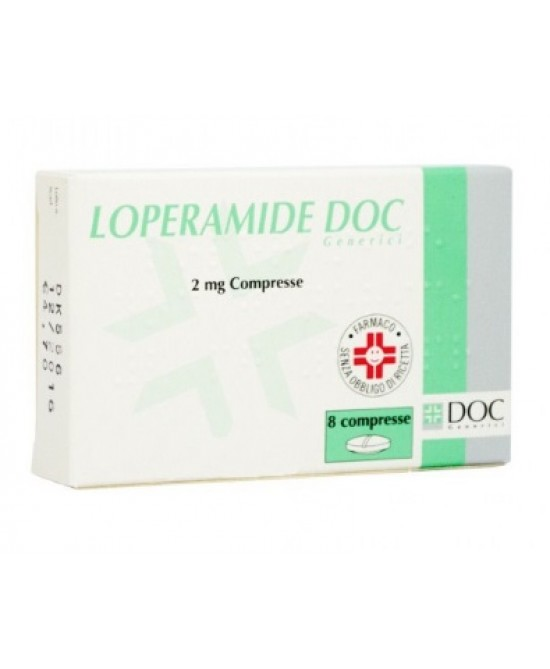 LOPERAMIDE DOC*15CPR 2MG - Spacefarma.it