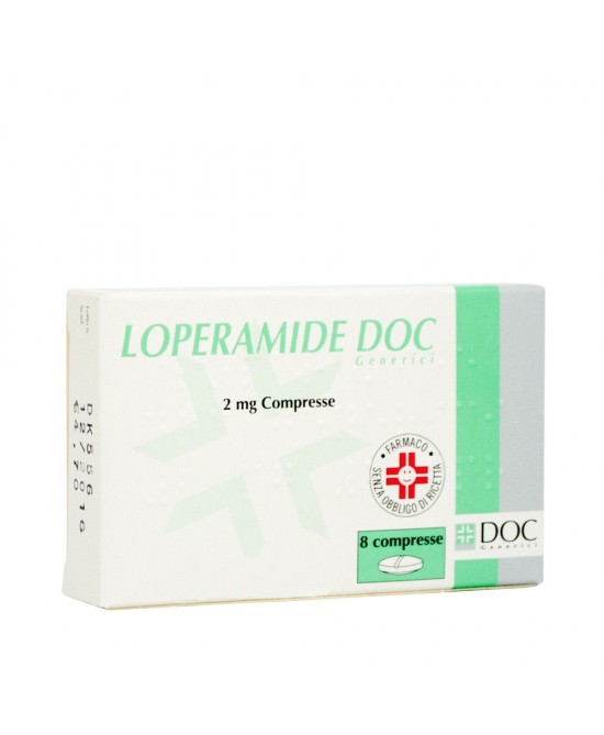 LOPERAMIDE DOC*8CPR 2MG - Spacefarma.it