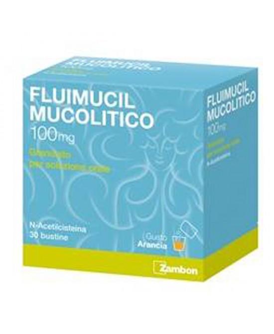 FLUIMUCIL MUC*OS 30BUST 100MG - Farmapage.it
