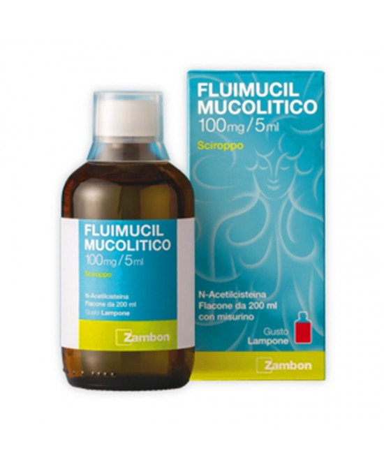 Fluimucil Mucolitico 600 mg/ 15 ml Sciroppo 200 ml - Farmalilla