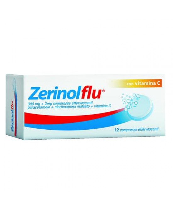 Zerinolflu Dispositivo Medico 20 Compresse Effervescenti - Farmacento