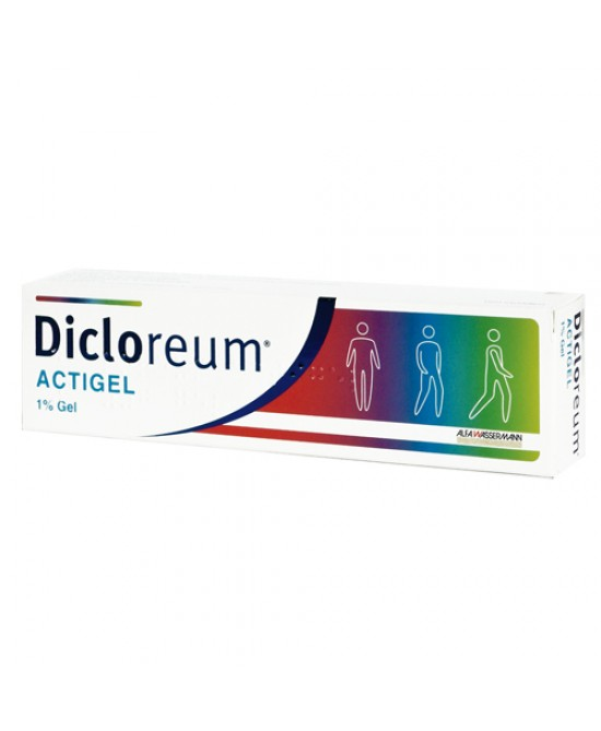 Alfa Wassermann Dicloreum Actigel Gel 50g 1% - Farmafamily.it