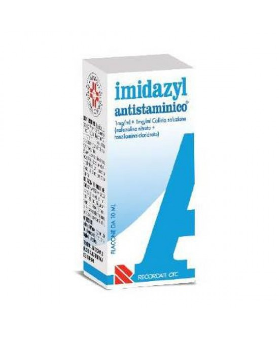 Recordati Imidazyl Antistaminico Collirio Flacone Da 10ml - Farmastar.it