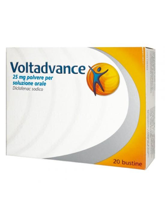 Novartis Voltadvance Polvere 20 Bustine Da 25mg - Farmastar.it
