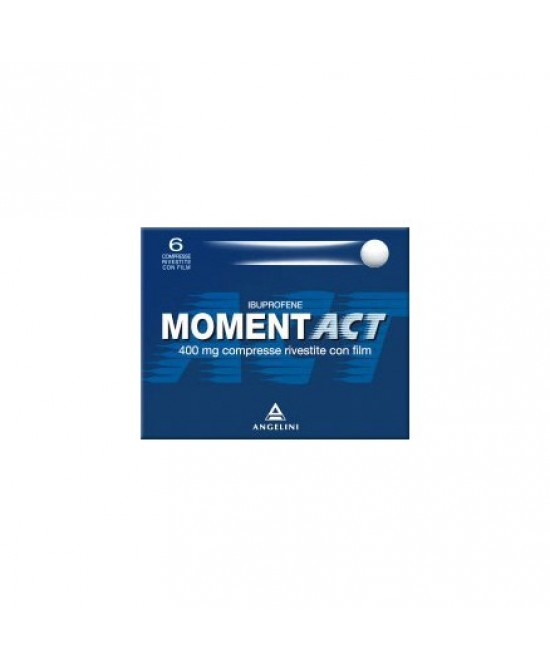 MomentAct 400mg Analgesico-Antinfiammatorio 6 Compresse Rivestite - Farmafamily.it