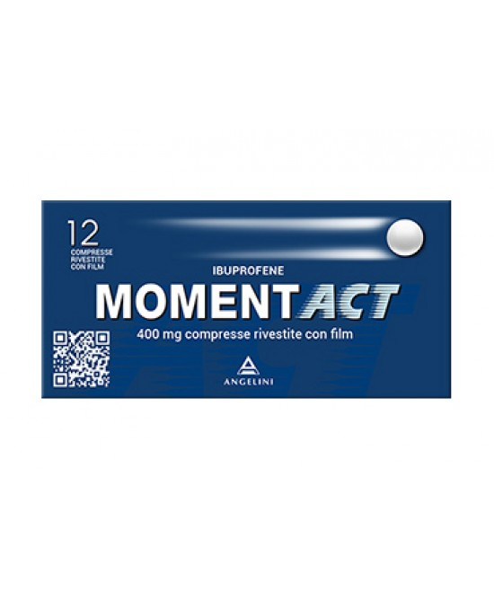MomentACT 400mg Ibuprofene 12 Compresse Rivestite - Farmafamily.it
