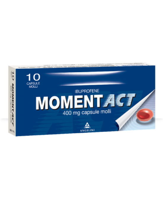 MomentACT 400mg 10 Capsule Molli - Farmawing