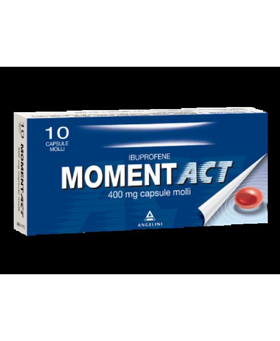 MomentACT 400mg 10 Capsule Molli - Farmacia 33