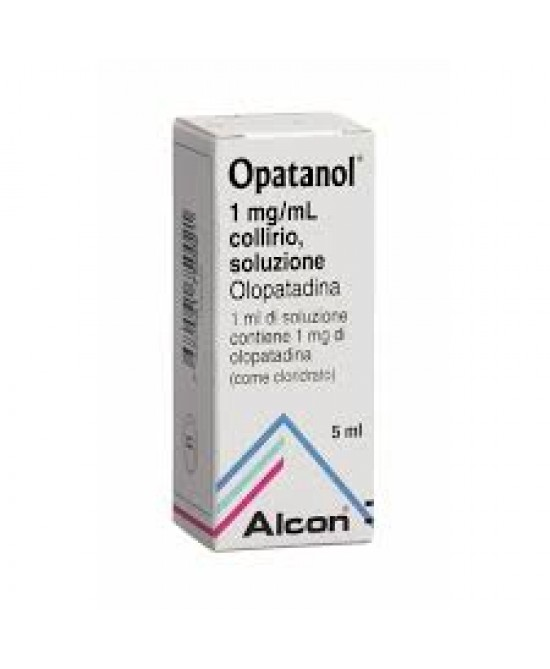 Opatanol 1mg/ml Collirio 5ml - Zfarmacia