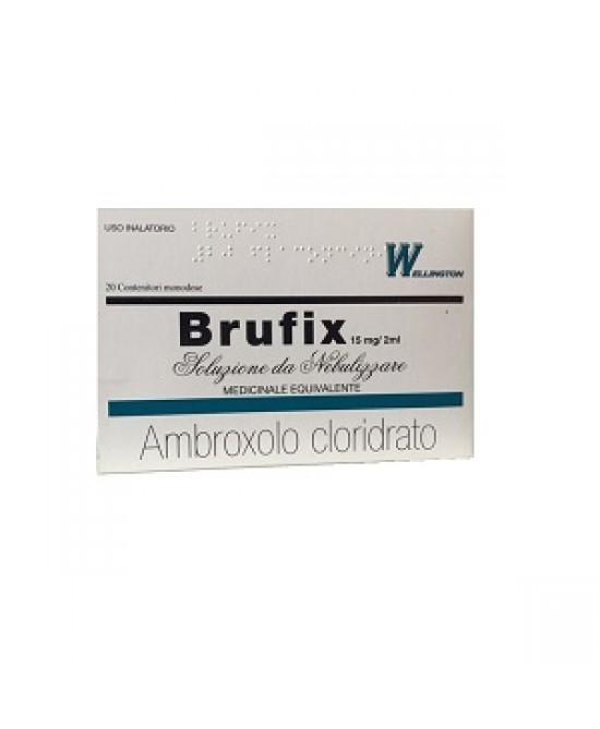 Brufix Soluzione da Nebulizzare 15 mg/2 ml Ambroxolo 20 Flaconcini offerta