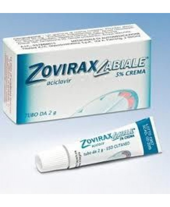 Zoviraxlabiale 5% Crema 2g - Farmaunclick.it