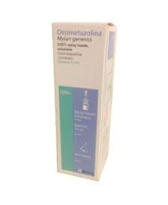 Ossimetazolina Mylan 0,05%  Spray Nasale 15ml - Farmastop