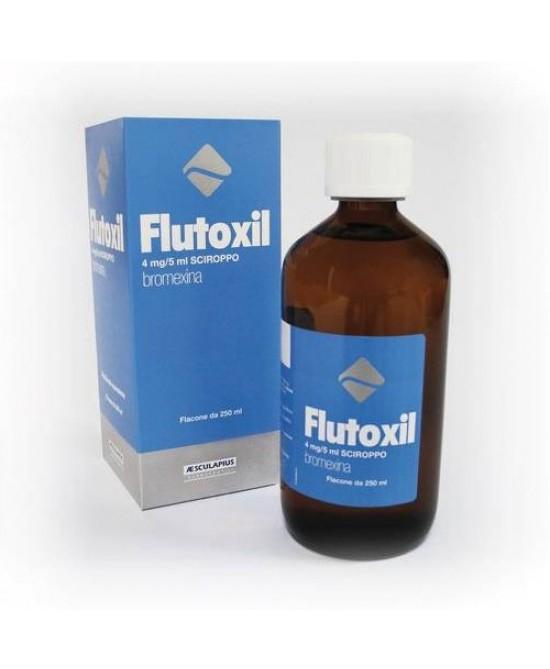FLUTOXIL SCIR FL 250ML 4MG/5ML prezzi bassi