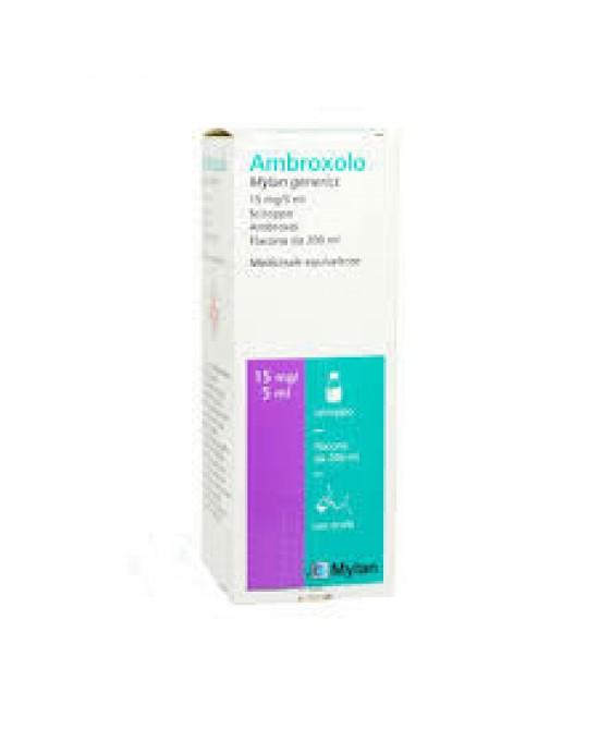 Ambroxolo Mylan 15mg/5ml  Sciroppo 200ml - FARMAPRIME