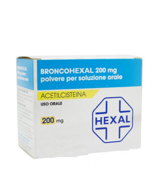 Broncohexal 200mg 30 Bustine - Farmapage.it