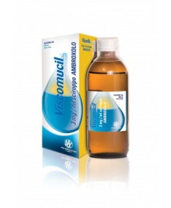 Abc Viscoflu 3mg/ml Sciroppo Trattamento Affezioni Respiratorie Flacone 200ml - Farmapage.it