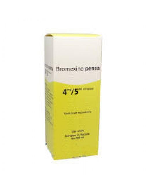Bromexina Pensa 4mg/5m Sciroppo 250ml - Farmastar.it