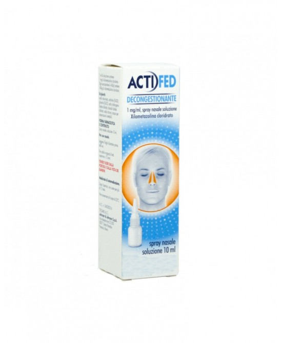 ActiFed Decongestionante 1mg/ml Spray Nasale 10ml - Farmastop