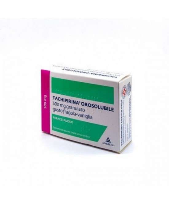 Tachipirina Orosolubile 500mg Granulato 12 Bustine - Farmaciaempatica.it