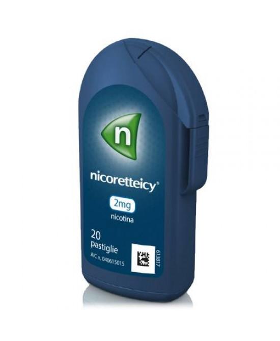 Nicoretteicy 2mg Nicotina 20 Pastiglie - Zfarmacia