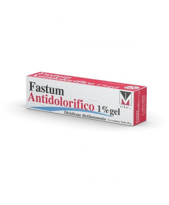 Menarini Fastum Antidolorifico 1% Gel 50g - Farmafamily.it
