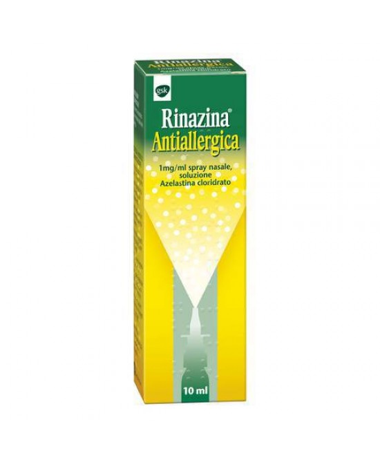 Rinazina Antiallergica Spray Nasale 10ml - Farmastar.it