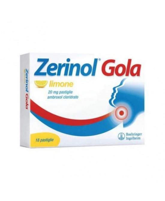 Zerinol Gola Limone 20mg 18 Pastiglie - latuafarmaciaonline.it
