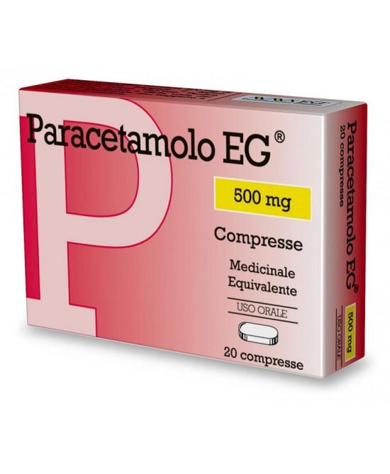 Paracetamolo EG 500 mg 20 Compresse offerta