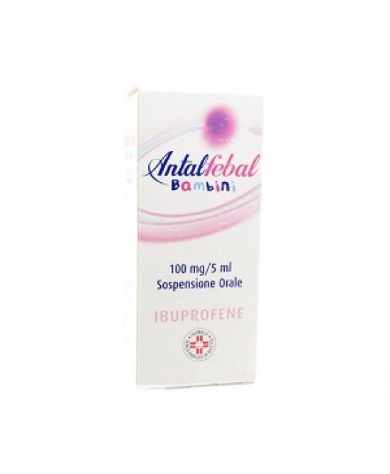 Antalfebal Bambini 100 mg/5 ml Sospensione Orale 100ml - FARMAPRIME