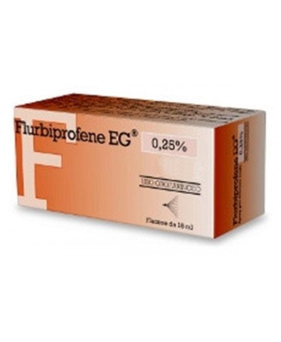 Flurbiprofene EG 0,25% Colluttorio 160ml - Farmacia 33