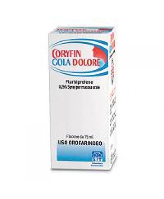 Coryfin Gola Dolore Antinfiammatorio Spray 15ml prezzi bassi