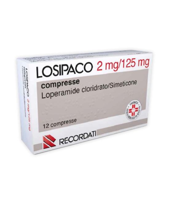 Losipaco 2mg+125mg Dispositivo Medico 12 Compresse - Farmafamily.it
