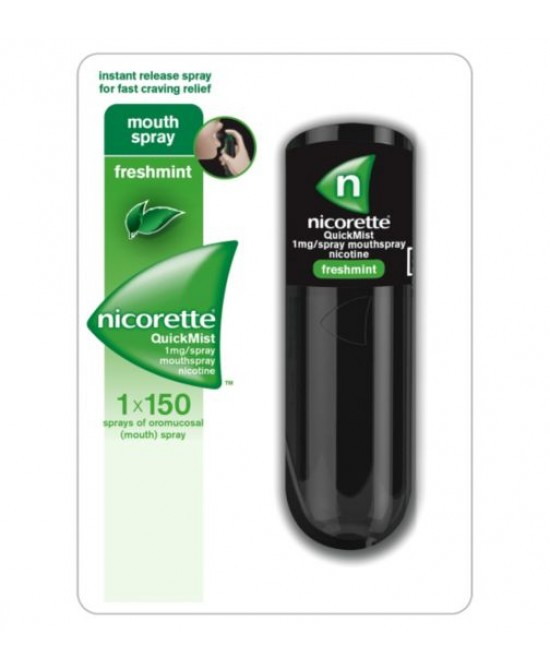 Nicorette QuickMist MouthSpray 13,2ml - Farmajoy