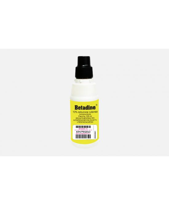 BETADINE*SOLUZ CUT 125ML 10% - Speedyfarma.it