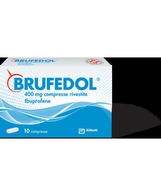 Brufedol 400mg 10 Compresse Rivestite - Zfarmacia