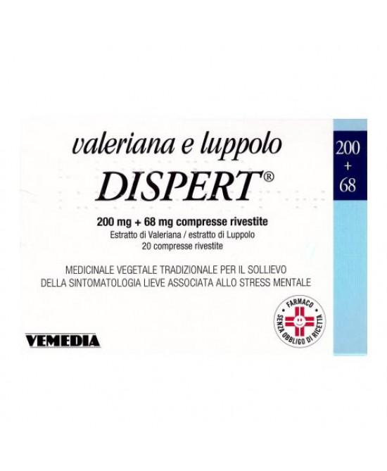 VALERIANA LUPPOLO DISP*20CPR - Parafarmacia la Fattoria della Salute S.n.c. di Delfini Dott.ssa Giulia e Marra Dott.ssa Michela