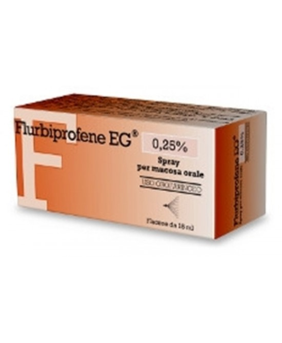 FLURBIPROFENE PE*OS SPRAY 15ML - Farmaciapacini.it
