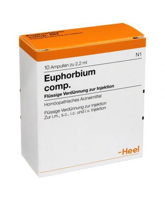 Guna Heel Euphorbium Compositum Medicinale Omeopatico 10 Fiale