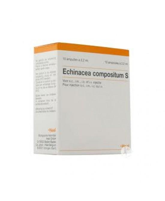 Heel Echinacea Compositum S 10 Fiale Da 2,2ml - Farmapage.it