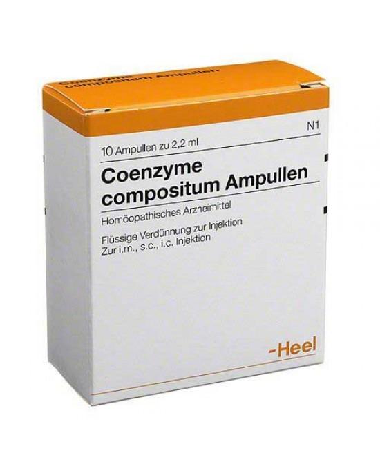 COENZYME COMP 10F 2,2ML HEEL prezzi bassi