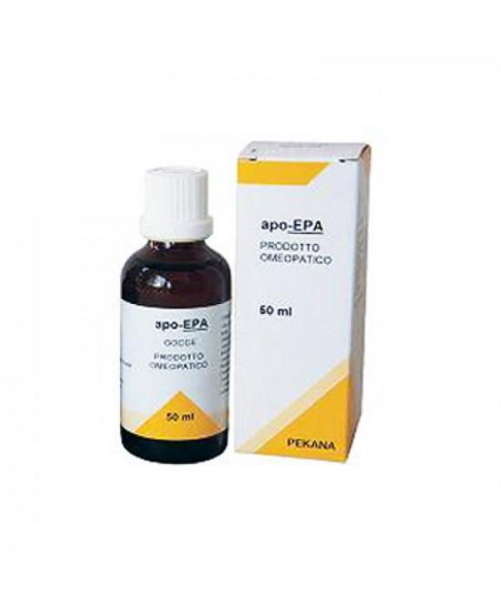 Named Pekana Apo-Epa Prodotto Omeopatico-Spagirico Gocce 50ml - Farmaciacarpediem.it