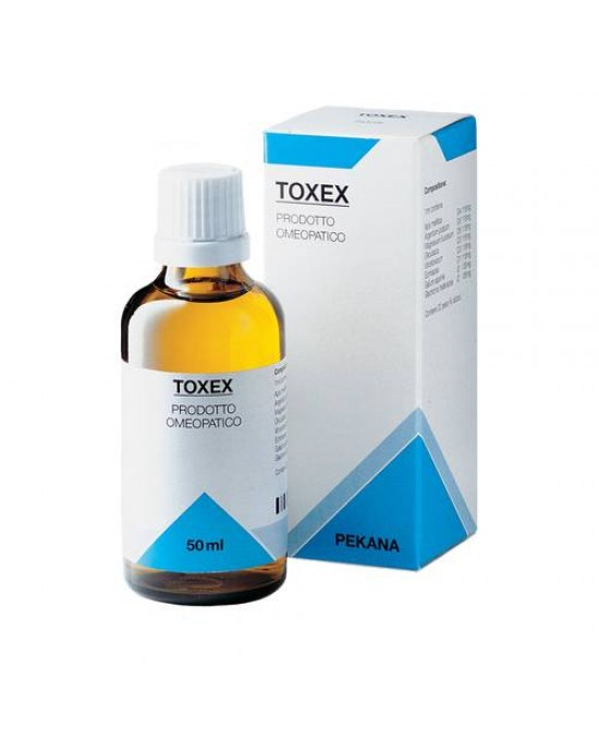 PEKANA TOXEX GOCCE 50 ML SPAGIRICO - Farmaciacarpediem.it