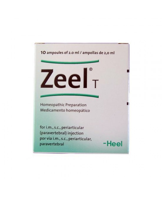 Heel Zeel T 10 Fiale Da 2,2ml - Farmaciaempatica.it