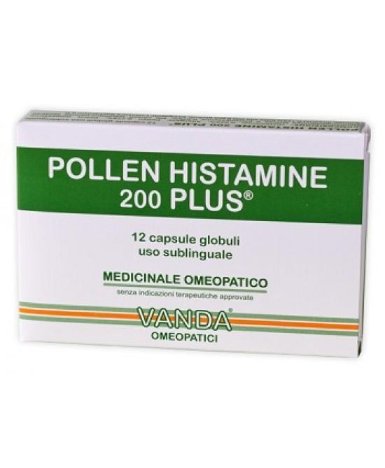 POLLEN HISTAMINE 200 PLUS 12 CAPSULE VANDA - Farmafirst.it