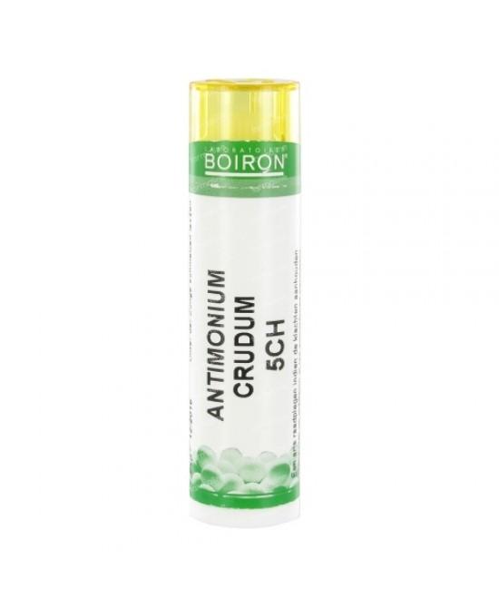 Boiron Antimonium Crudum 5ch Granulare 6g - Farmastar.it