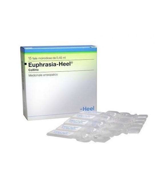 Heel Euphrasia-Heel Collirio 15 Fialette - Farmaciaempatica.it