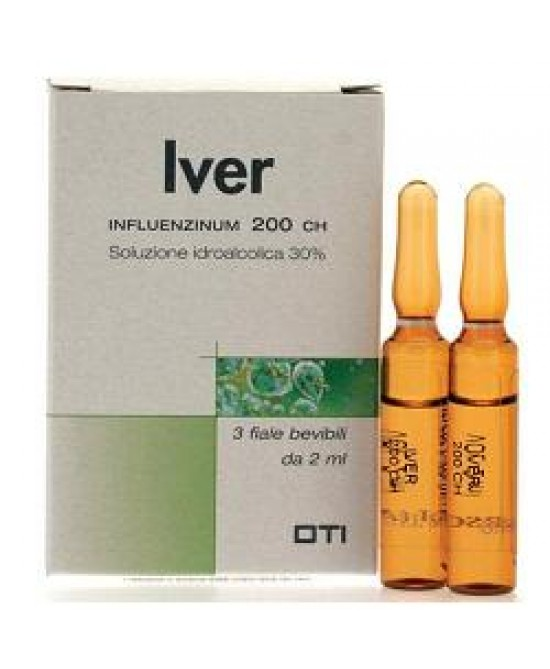 IVER 200CH 3 FIALE IDROALCOLICHE 2ML - Farmaunclick.it
