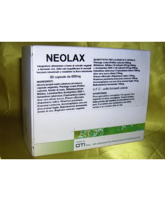 NEOLAX 60 CAPSULE - Spacefarma.it