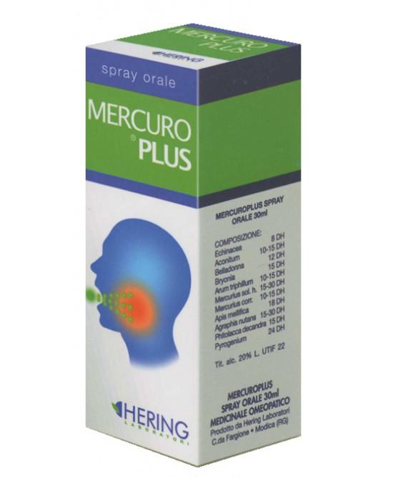 Hering Synergiplus Mercuroplus Spray Orale 30 ml