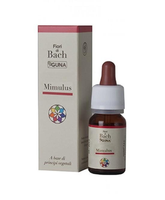 Guna Fiori Di Bach 20 Mimulus Gocce 10 ml